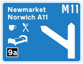 M11 Junction 9a