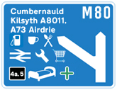 M80 Junction 4a,5