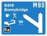 M80 Junction 6a